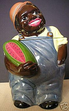 Take a Look at These Cookie Jar Collectors Items!: Watermelon Sammy