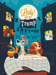 Lady and the Tramp, by Dave Perillo #daveperillo #ladyandthetramp