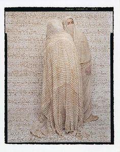 Lalla Essaydi, Les Femmes du Maroc: Outdoor Gossip, 2008