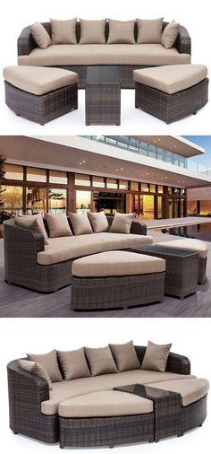 4 Piece Cove Beach Lounge Set