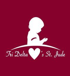 Tri Delta Loves St. Jude - March is St. Jude month!
