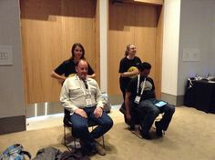 Dick Smith - #HaloMassage for #Conference Attendees. #Event #Massage #Sydney