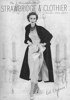 Strawbridge and Clothier ad, 1950s - I miss Strawbridges.