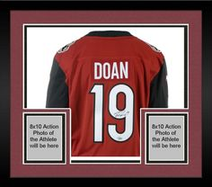 b34f1968b Framed Shane Doan Arizona Coyotes Autographed Red Fanatics Breakaway Jersey