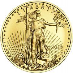 2014 1/4 oz Gold American Eagle Brilliant Uncirculated