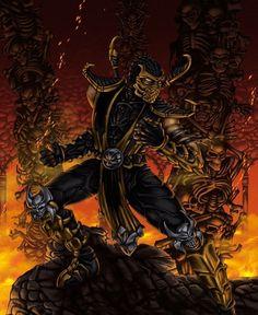 Scorpion, El mejor ninja de Mortal Kombat [HD] - Taringa!