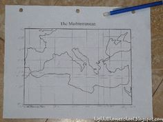 Incorporating math and geography to make maps
