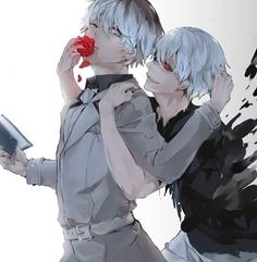 "this is a great drawing and i'm sorry but when i saw i immediately thought ""eat the flower.""  ""but i don't wanna-""  ""i sAID EAT THE DAMN FLOWER SASAKI"""