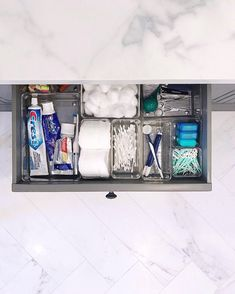 Rise & shine  #LIJTip: You know that calm clean feeling you get after you get ready for your morning? Double up on that feeling by organizing your routine. Take a drawer and dedicate a space for every step of the way. Our favorite way to wake up next to a fresh pot of .