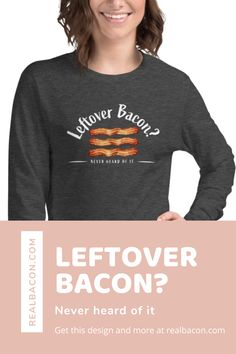 Find this design and more at the RealBacon.com store! Pork Shoulder Recipes, 30 Minute Meals, Easy Family Meals, Football Food, Pork Chops, Pulled Pork, Great Recipes, Bacon, Bucket