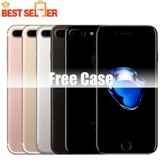 Unlocked Apple iPhone 7 Plus Mobile Phone 12MP Two Camera Wide-Angle 4G LTE  5.5