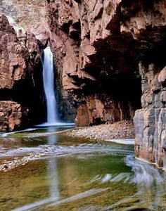 Cibecue Creek, Arizona.  Zane Grey called it  the Cibeque.   (Photo by Kaveh)