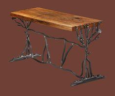 Blue Ridge Mountain Bench by John Boyd Smith Metal Studios