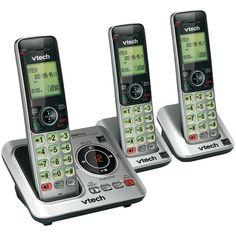 Vtech Dect 6.0 Expandable Speakerphone With Caller Id (3-handset System) VTEVTCS66293