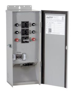 Reliance Controls Corporation R302016 Pro/Tran Outdoor Transfer Switch, 6-Circuit, NEMA 3R for Generators Up to 8000 Running Watts > This unit is cUL listed Maximum single-pole circuits: 6 Maximum double-pole circuits: 3 Check more at http://farmgardensuperstore.com/product/reliance-controls-corporation-r302016-protran-outdoor-transfer-switch-6-circuit-nema-3r-for-generators-up-to-8000-running-watts/