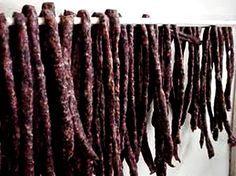 Droëwors Watertand suid afrikaanse lekkerte...So maak mens : Boerekos Resepte