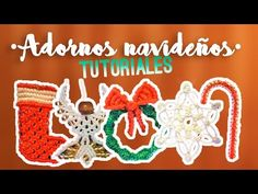 Corona navideña ♥︎ macrame tutorial | como hacer | how to - YouTube