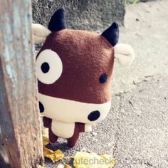 New Cute Cattle Star Guy Doll Plushie DIY Gift