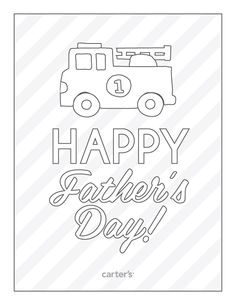 """Happy Father's Day"" #free #printable"