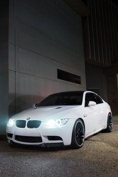 Sex on wheels #BMW #White #Sexy