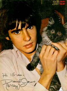 Davy Jones. Had such a crush on him. Met him once at the ponies when I was a girl. Dreamy....