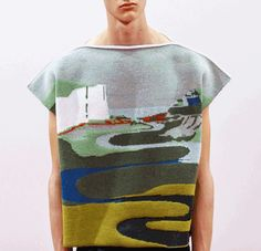 lavandula:j.w. anderson spring.summer 15, collaboration with textile artist john allen