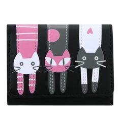 $2.45 (Buy here: https://alitems.com/g/1e8d114494ebda23ff8b16525dc3e8/?i=5&ulp=https%3A%2F%2Fwww.aliexpress.com%2Fitem%2FWomen-Short-Wallet-Lovely-Cats-Pattern-Print-Soft-Leather-Bifold-Small-Purse-Candy-Colors-Zipper-Multiple%2F32705751948.html ) 2016 Fashion Women Wallet and Purses Cat Purse Short Wallet Handbags Female Card Holder tarjetero mujer marca Carteras for just $2.45