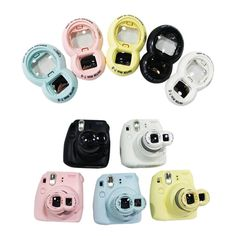Close Up Lens and Selfie Mirror for Fujifilm Instax Mini 8 7S Camera Color/ Pattern: *Blue, pink, yellow, black, white, red, purple Quantity: 1 piece Size: 67 x 42 mm ♥ Secret free gift is provided to every single order. ♥ Save $$$ with our multi-buys ~~~ PACKAGE ~~~ Fujifilm