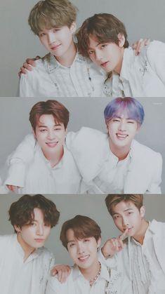 Bangtan boys or BTS is one of the famous boy group in global they debut under BigHit Entertainment i Bts Jimin, Bts Taehyung, Bts Bangtan Boy, Bts Lockscreen, Wallpaper Lockscreen, Foto Bts, Bts Group Picture, Bts Group Photos, Seokjin
