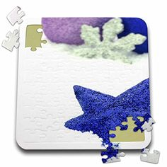 Yves Creations Christmas Decorations - Blue Christmas Star with Silver Snowflake - 10x10 Inch Puzzle (pzl_77025_2) 3dRose http://www.amazon.com/dp/B016J5EJDS/ref=cm_sw_r_pi_dp_3Ssdxb1A09YHX