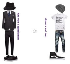 """""""Are you a gentleman OR are you a savage"""" by smallworld72 ❤ liked on Polyvore featuring Ted Baker, Marni, Lakai, BKE, Vans, Outdoor Research, men's fashion and menswear"""