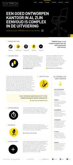 Torekov website by www.formlab.nl