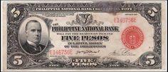 Philippine National Bank 1937 5 Pesos E146756E a | Flickr - Photo Sharing!