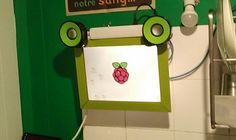 Build a simple kitchen terminal out of an old laptop screen and Raspberry Pi | # cd /scratch