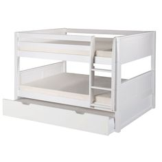 Camaflexi Full over Full Bunk Bed with Trundle & Reviews | AllModern