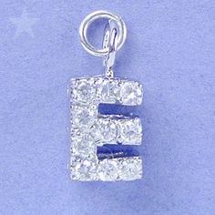 Alphabet Letter E Charm