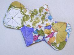 "9.25"" Heavy - Umbrellas - Reusable Cloth Menstrual Pad (9HC)"