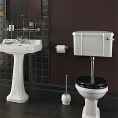 At bathstore you're spoilt for choice when it comes to bathroom suites. Modern or traditional, we're sure to have the ideal bathroom suite for you. Traditional Style Toilets, Edwardian Bathroom, Victorian Toilet, Cloakroom Basin, Steam Showers Bathroom, Bathrooms, Toilet Suites, Interior Decorating Styles, Interior Ideas