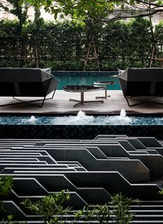 // Onyx by Shma Company Limited. Photos courtesy of Shma Pool. ideas, backyard, patio, diy, landscape, deck, party, garden, outdoor, house, swimming, water, beach.