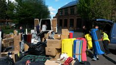 Multiswap here at City Works on 27th April 2015.                                               Gloucestershire Resource Centre http://www.grcltd.org/scrapstore/