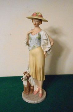 home interiors figurine 2004 porcelain 9 5 inches