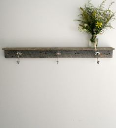 Reclaimed Barnwood Coat Rack & Shelf | Home Decor | EverettCo | Scoutmob Shoppe | Product Detail