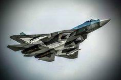 #Repost @acepilot2016 Sukhoi T50 #t50pakfa #sukhoi #russia by militarytopics