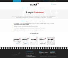 Fotika - Photography website design