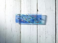 Rockpool SMALL PANEL - Jo Downs Handmade Glass