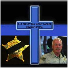 End of watch 10Aug2016 Rest in Peace & God bless you, your family and friends.