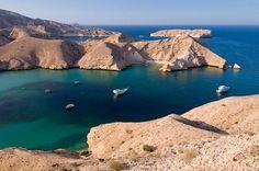 Oman, Muscat | Bandar Khayran. view on Fb https://www.facebook.com/OmanPocketGuide  credit: Uniboats #oman