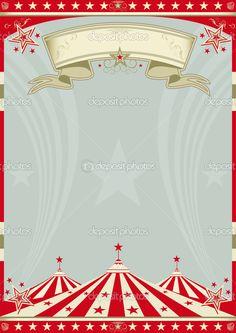 Télécharger - Rétro grand chapiteau de cirque — Illustration #13681223