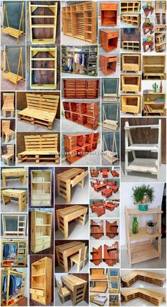 Marvelous Creations Made with Recycled Pallets - DIY Pallet Projects Wood Pallet Beds, Pallet House, Diy Pallet Furniture, Wooden Pallets, Furniture Ideas, Furniture Showroom, Pallet Crafts, Diy Pallet Projects, Wood Projects