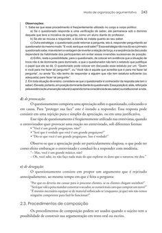 Página 243  Pressione a tecla A para ler o texto da página